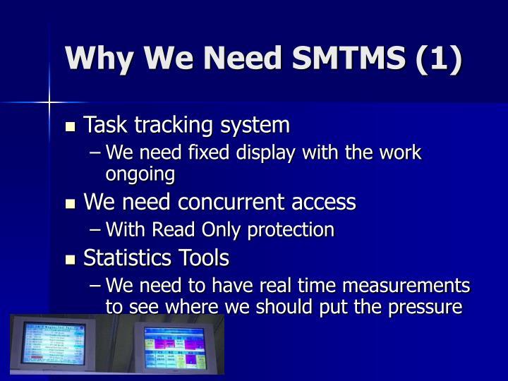 Why We Need SMTMS (1)
