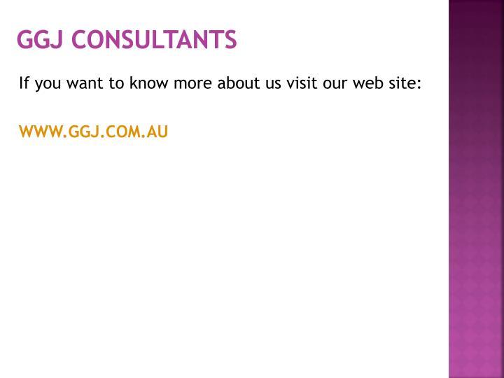 GGJ Consultants