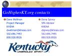 gohigherky org contacts