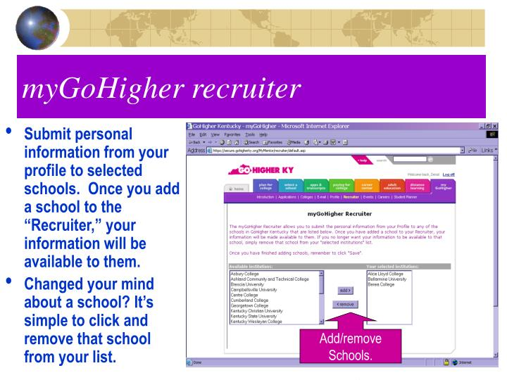 myGoHigher recruiter