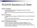 plexos solutions llc team