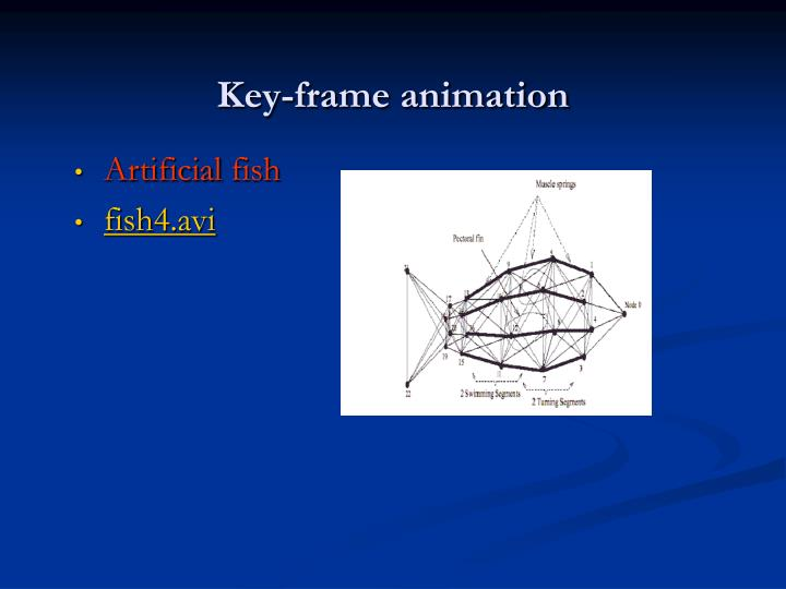 Key-frame animation