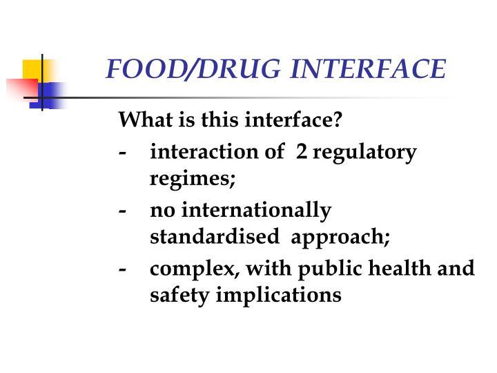 FOOD/DRUG