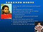 lorenzo odone