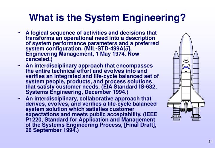 What is the System Engineering?
