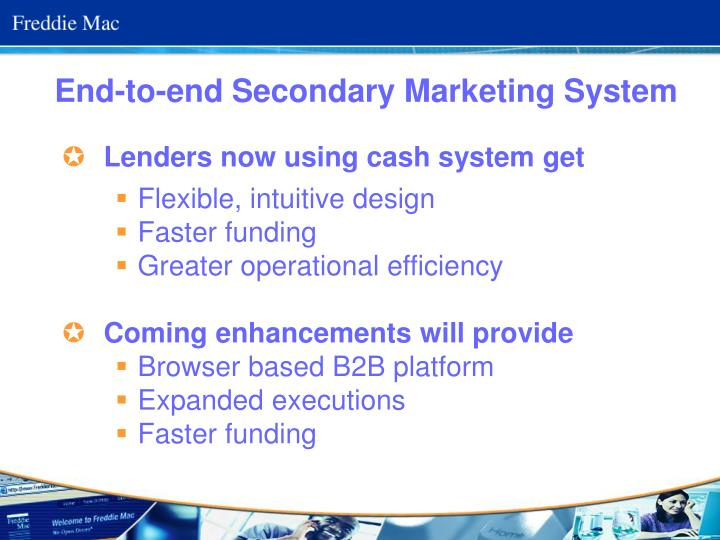 End-to-end Secondary Marketing System