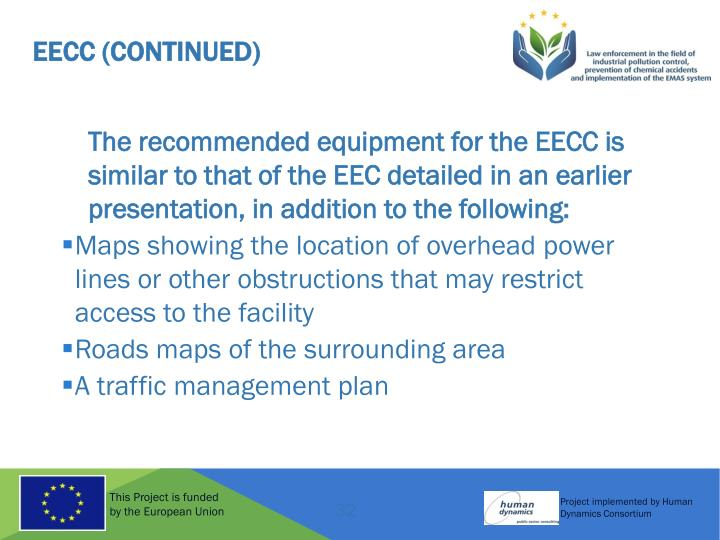 EECC (Continued)
