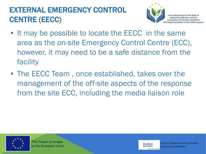 External Emergency Control Centre (EECC)