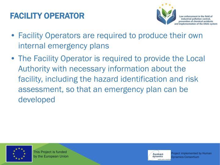 Facility Operator