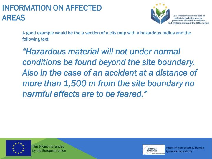 Information on Affected