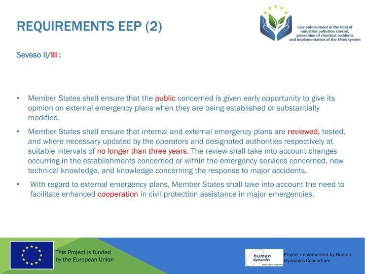 REQUIREMENTS EEP (2)