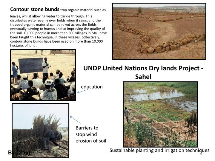 UNDP United Nations Dry lands Project - Sahel