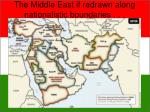 the middle east if redrawn along nationalistic boundaries