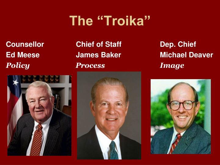 """The """"Troika"""""""