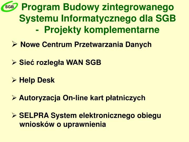 Program Budowy zintegrowanego