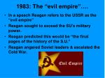 1983 the evil empire