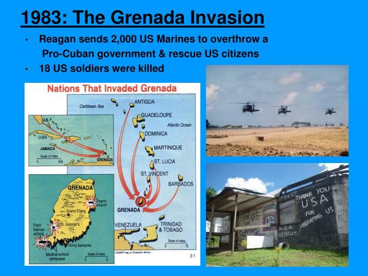 1983: The Grenada Invasion