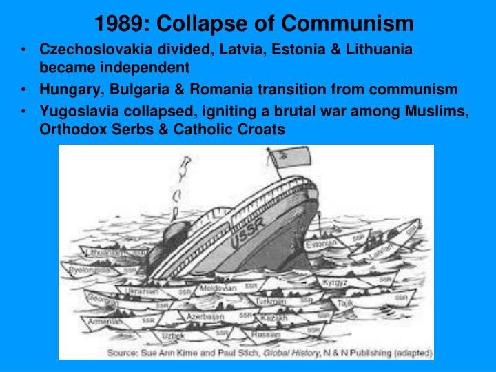 1989: Collapse of Communism