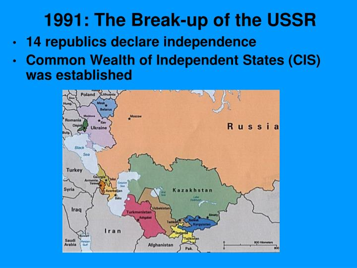 1991: The Break-up of the USSR