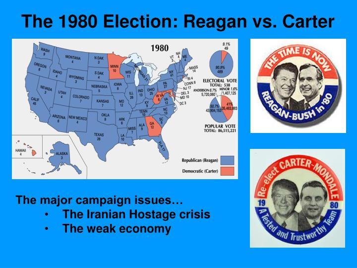 The 1980 Election: Reagan vs. Carter