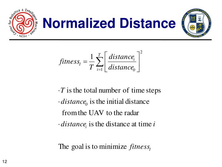 Normalized Distance
