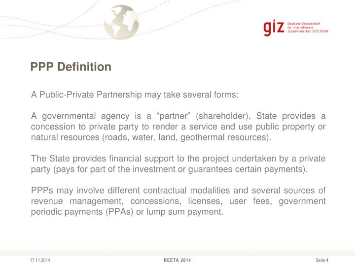 PPP Definition