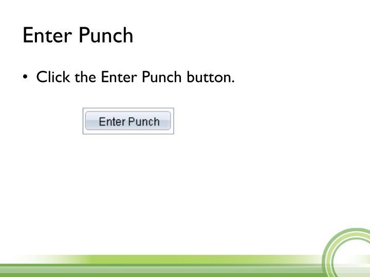 Enter Punch