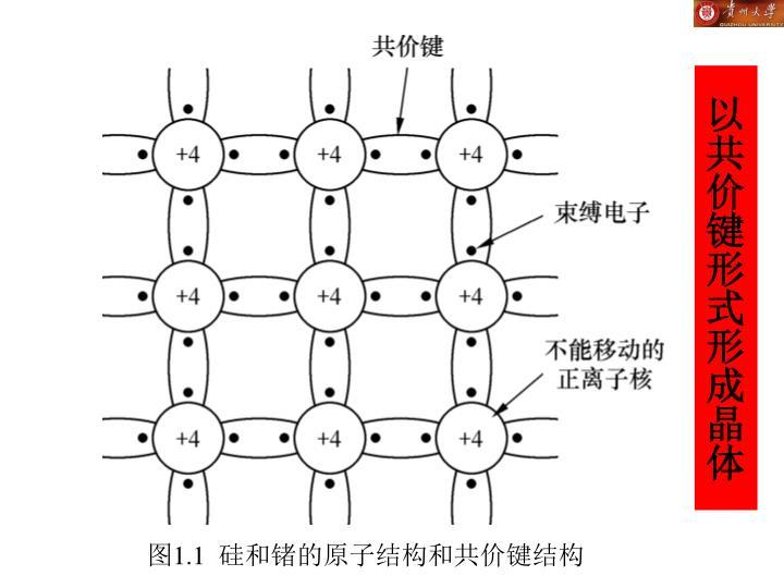 以共价键形式形成晶体