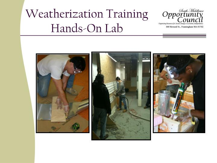 Weatherization Training