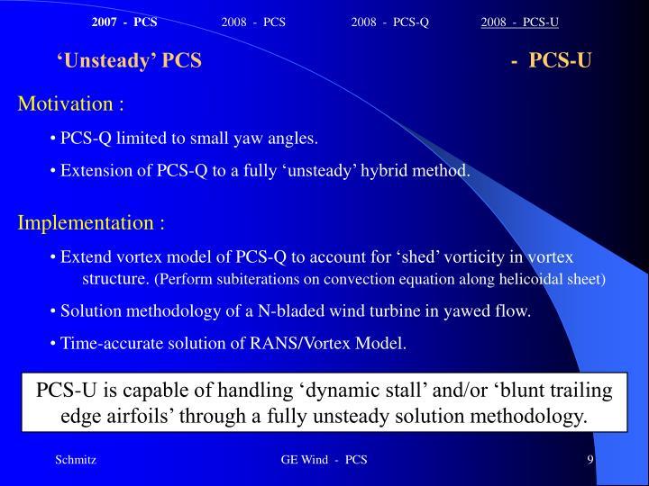 2007  -  PCS