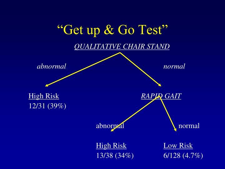 """""""Get up & Go Test"""""""