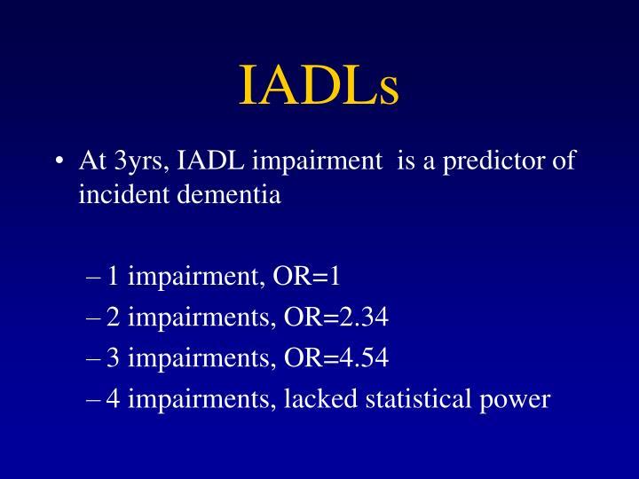 IADLs