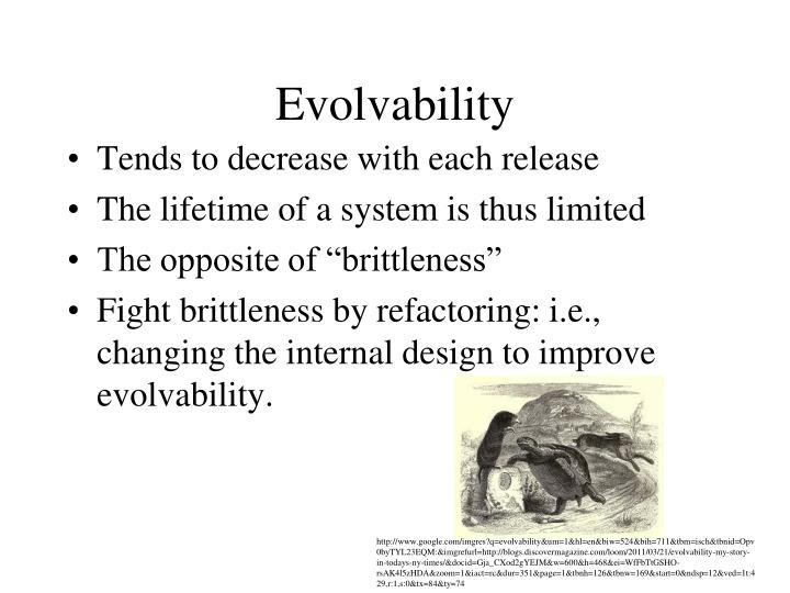 Evolvability