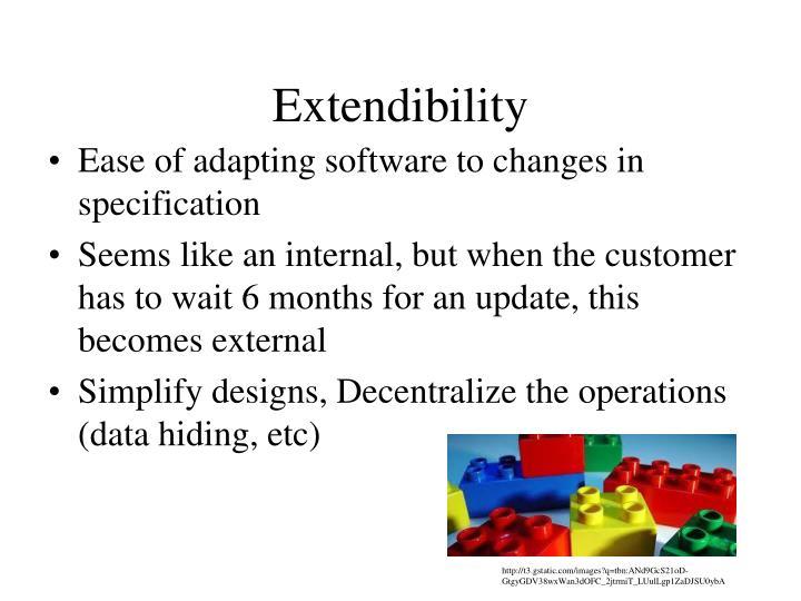 Extendibility