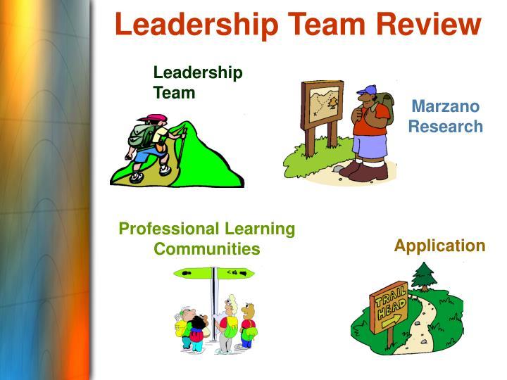 Leadership Team Review