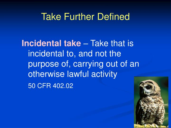 Take Further Defined