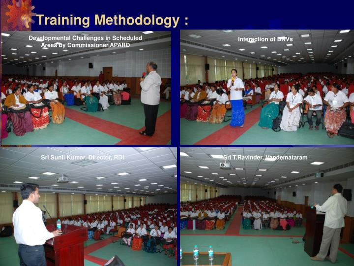 Training Methodology :