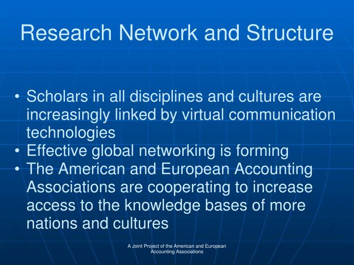 Research Network and Structure