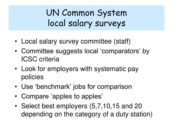 UN Common System
