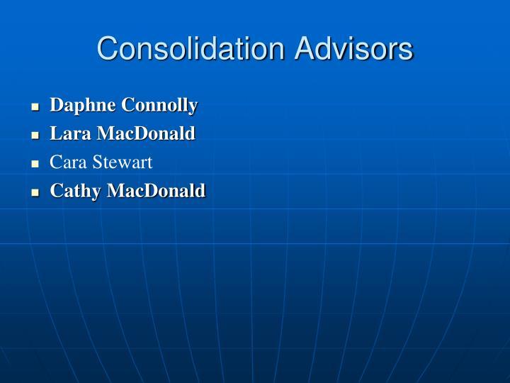 Consolidation Advisors