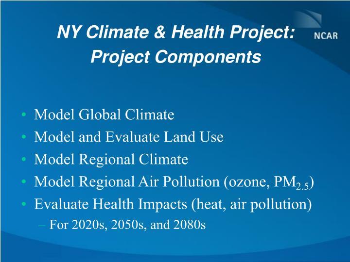 NY Climate & Health Project:
