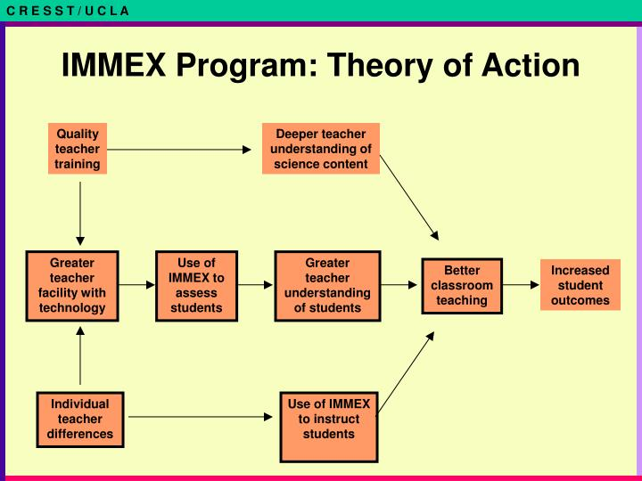 IMMEX Program: Theory of Action