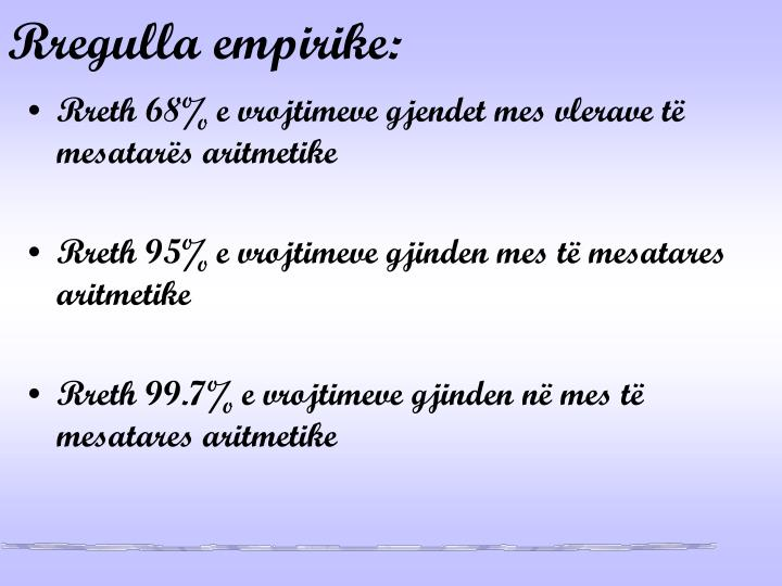 Rregulla empirike: