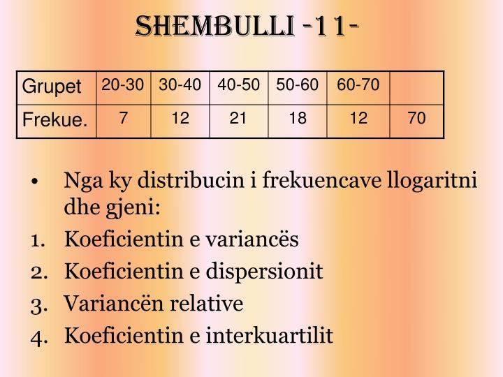 Shembulli -11-