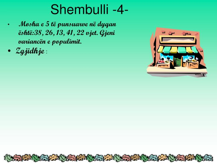 Shembulli -4-