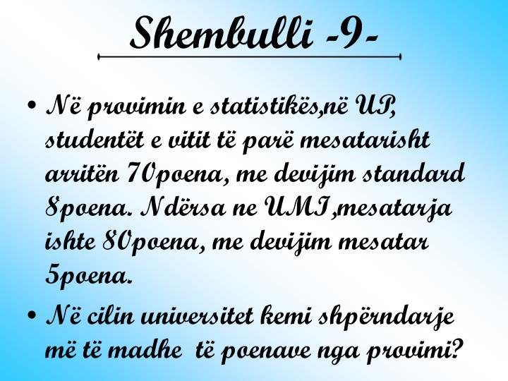 Shembulli -9-