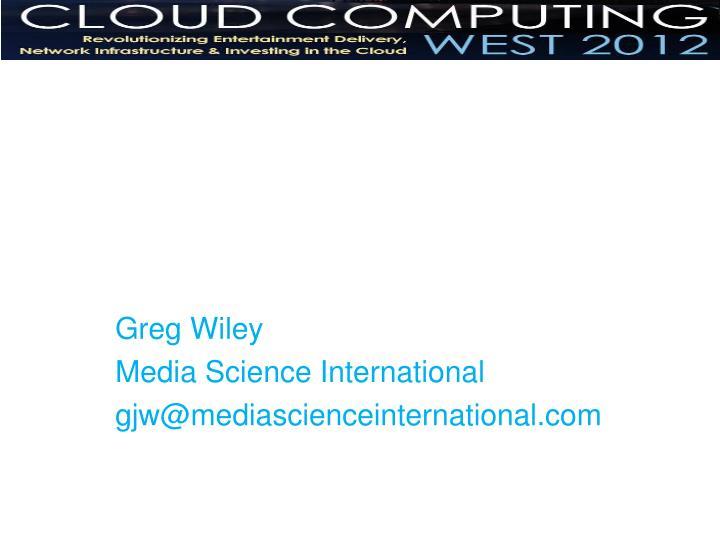 Greg Wiley