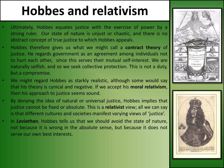 Hobbes and relativism