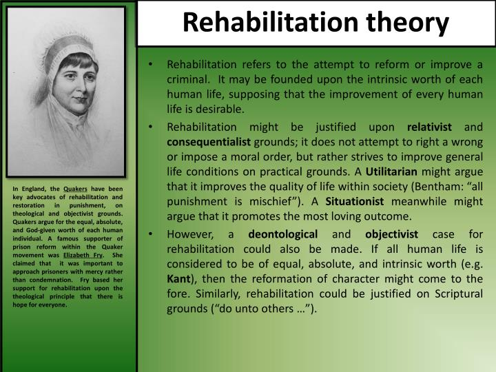 Rehabilitation theory