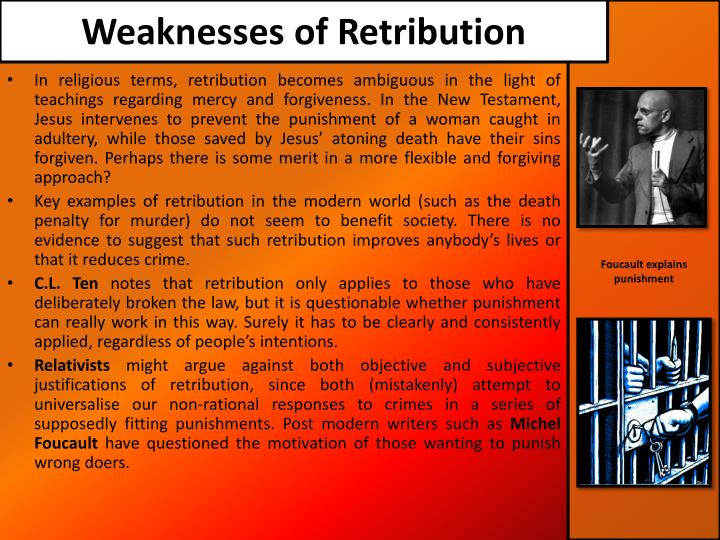 Weaknesses of Retribution